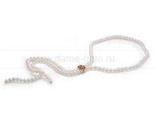 Ожерелье из белого речного жемчуга. Артикул 10045