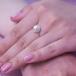 Кольцо из серебра с белой жемчужиной. Артикул 10120