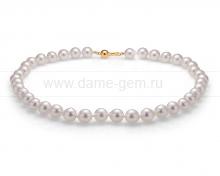 Колье (ожерелье) из белого морского жемчуга. Артикул 10138