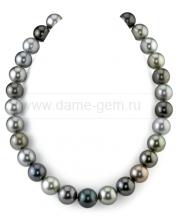 "Колье (ожерелье) ""микс"" из Таитянского морского жемчуга. Артикул 10158"