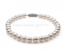 Ожерелье из 30 жемчужин из белого жемчуга. Артикул 10276