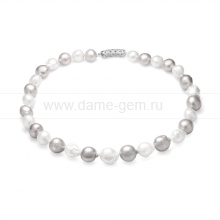 """Ожерелье """"микс"""" из 30 жемчужин из барочного жемчуга 13-16 мм. Артикул 10284"""