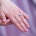Кольцо из золота с белой морской жемчужиной Акойя 9-9,5 мм. Артикул 10318