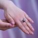 Кольцо с Таитянской жемчужиной. Артикул 10332