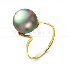Кольцо с Таитянской жемчужиной. Артикул 10334