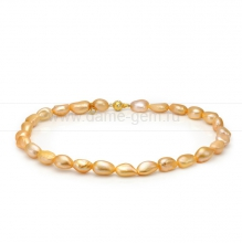 Ожерелье из золотистого барочного жемчуга 12-13 мм. Артикул 10354