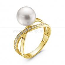 Кольцо с жемчужиной Акойя. Артикул 10460