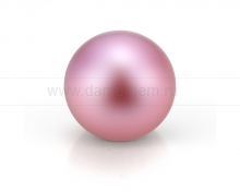 Жемчужина круглая розовая. Артикул 10543