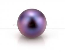 Жемчужина круглая черная. Артикул 10553