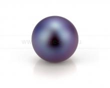 Жемчужина круглая черная. Артикул 10554