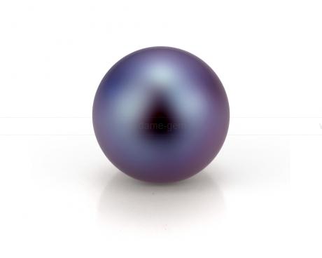 Жемчужина круглая черная 7,5-8 мм. Класс наивысший ААА. Артикул 10554