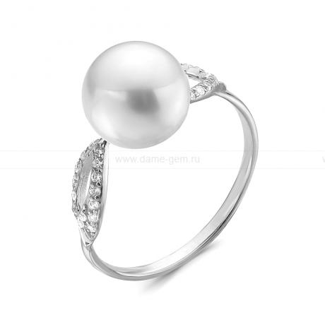 Кольцо с белой жемчужиной. Артикул 10625