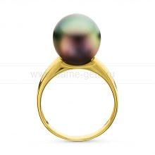 Кольцо с Таитянской морской жемчужиной. Артикул 10721