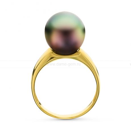 Кольцо из серебра с Таитянской морской жемчужиной. Артикул 10721