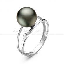 Кольцо с Таитянской морской жемчужиной. Артикул 10887