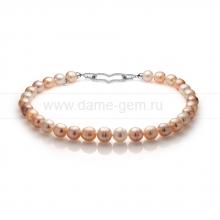 "Ожерелье ""микс"" из 30 жемчужин из речного жемчуга 12-14 мм. Артикул 10981"