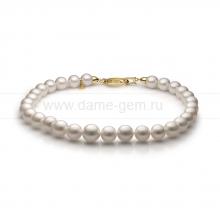 Ожерелье из 30 жемчужин из белого жемчуга. Артикул 11153