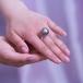 Кольцо из серебра с Таитянской морской жемчужиной 14-16 мм. Артикул 11549