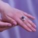 Кольцо из белого золота с морскими жемчужинами Акойя 7,5-8 мм. Артикул 11649