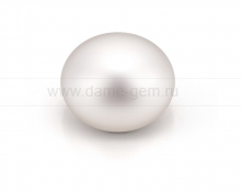 Жемчужина сплющенная белая 10,5-11 мм. Класс наивысший ААА. Артикул 11662