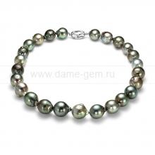 """Ожерелье из Таитянского морского жемчуга """"Барокко"""" 10,5-14,7 мм. Артикул 11861"""