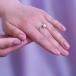 Кольцо из белого золота с белой жемчужиной 8,5-9 мм. Артикул 12067