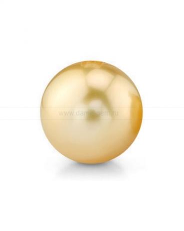 Жемчужина золотистая морская Австралийская 14,6-14,9 мм. Класс средний АА. Артикул 12292