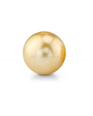 Жемчужина золотистая морская Австралийская 10-10,5 мм. Класс средний АА. Артикул 12294