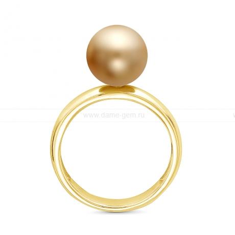 Кольцо из серебра с морской Австралийской жемчужиной 10,6-10,9 мм. Артикул 12343