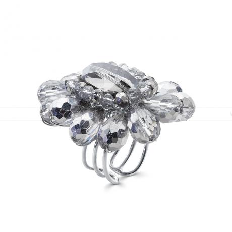 Кольцо из кристаллов. Артикул 12345