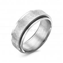 Кольцо мужское из ювелирной стали. Артикул 12510