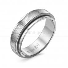 Кольцо мужское из ювелирной стали. Артикул 12512