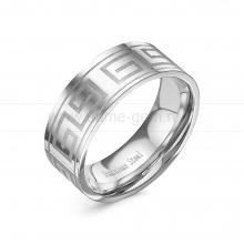 Кольцо мужское из ювелирной стали. Артикул 12517