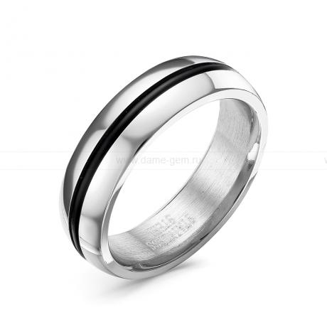 Кольцо мужское из ювелирной стали. Артикул 12518