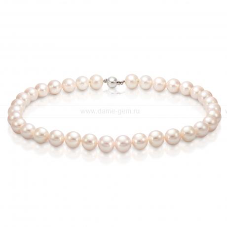 Колье (ожерелье) из белого морского жемчуга. Артикул 7652