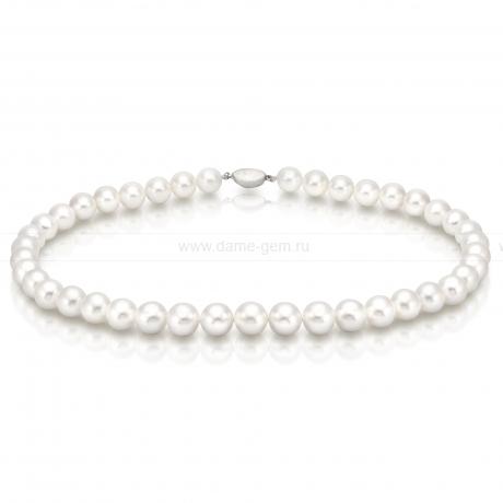 Колье (ожерелье) из белого морского жемчуга. Артикул 7654
