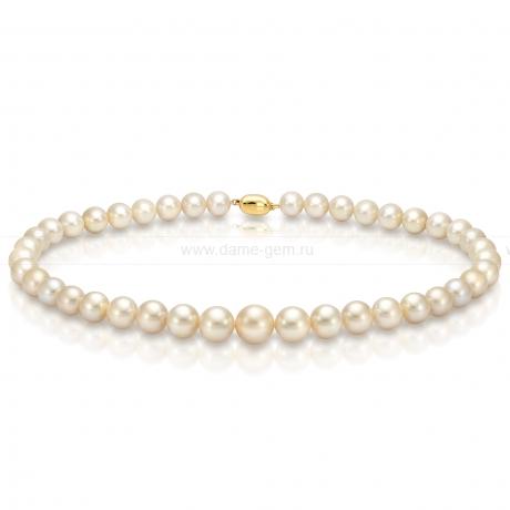 Колье (ожерелье) из золотого Австралийского жемчуга. Артикул 7740