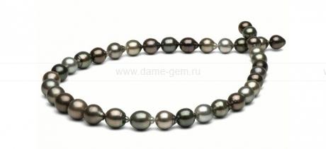 Колье (ожерелье) из барочного Таитянского морского жемчуга. Артикул 8413