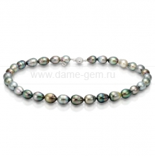 """Колье (ожерелье) """"микс"""" из барочного Таитянского жемчуга. Артикул 8414"""