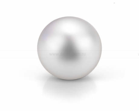 Жемчужина круглая белая. Артикул 8602