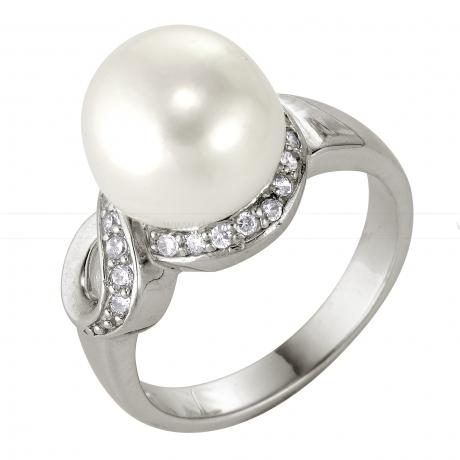 Кольцо с белой жемчужиной. Артикул 8723