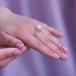 Кольцо из серебра с белой жемчужиной 8,5-9 мм. Артикул 9254