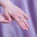 Кольцо из серебра с белой жемчужиной. Артикул 9456