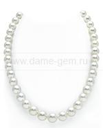 Колье (ожерелье) из белого Австралийского жемчуга. Артикул 9491