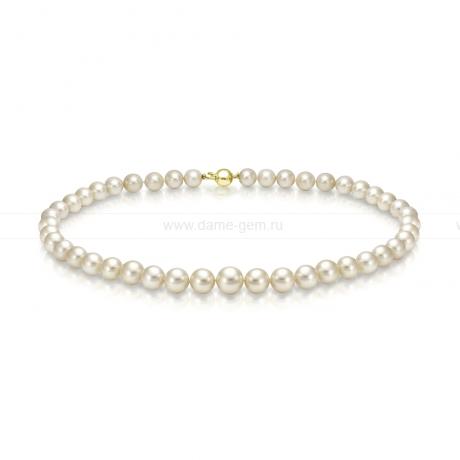 Колье (ожерелье) из бежевого Австралийского жемчуга. Артикул 9493