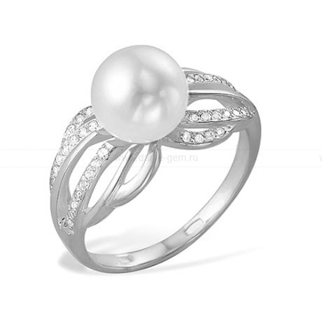 Кольцо с белой жемчужиной. Артикул 9529
