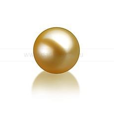 Жемчужина золотистая морская Акойя. Артикул 9786