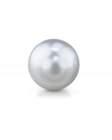 Жемчужина серебристая морская Акойя (Япония) 8,5-9 мм. Класс наивысший ААА. Артикул 9793