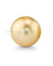 Жемчужина золотистая круглая морская Австралийская. Артикул 9797