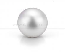 Жемчужина белая круглая морская Австралийская. Размер жемчужины 13-13,5 мм.